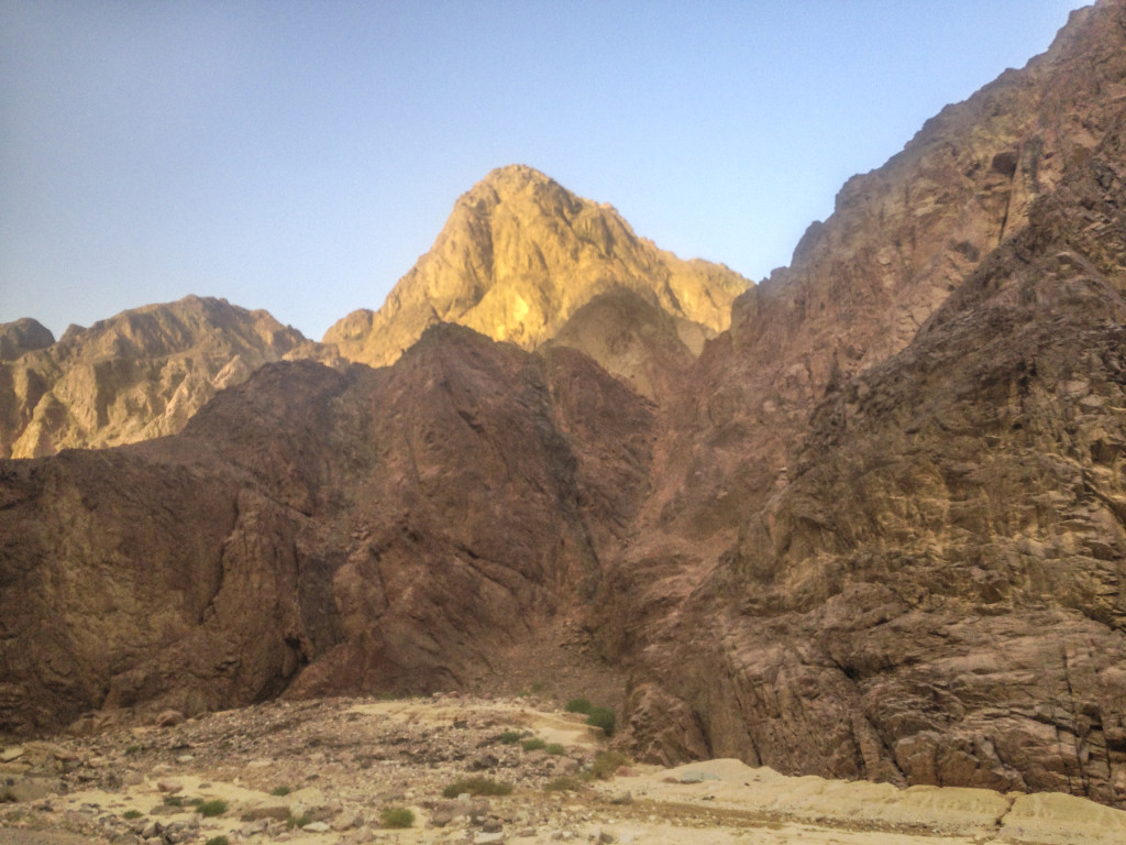 The Sinai Peninsula.