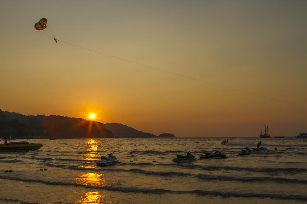 Patong Beach, Thailand.